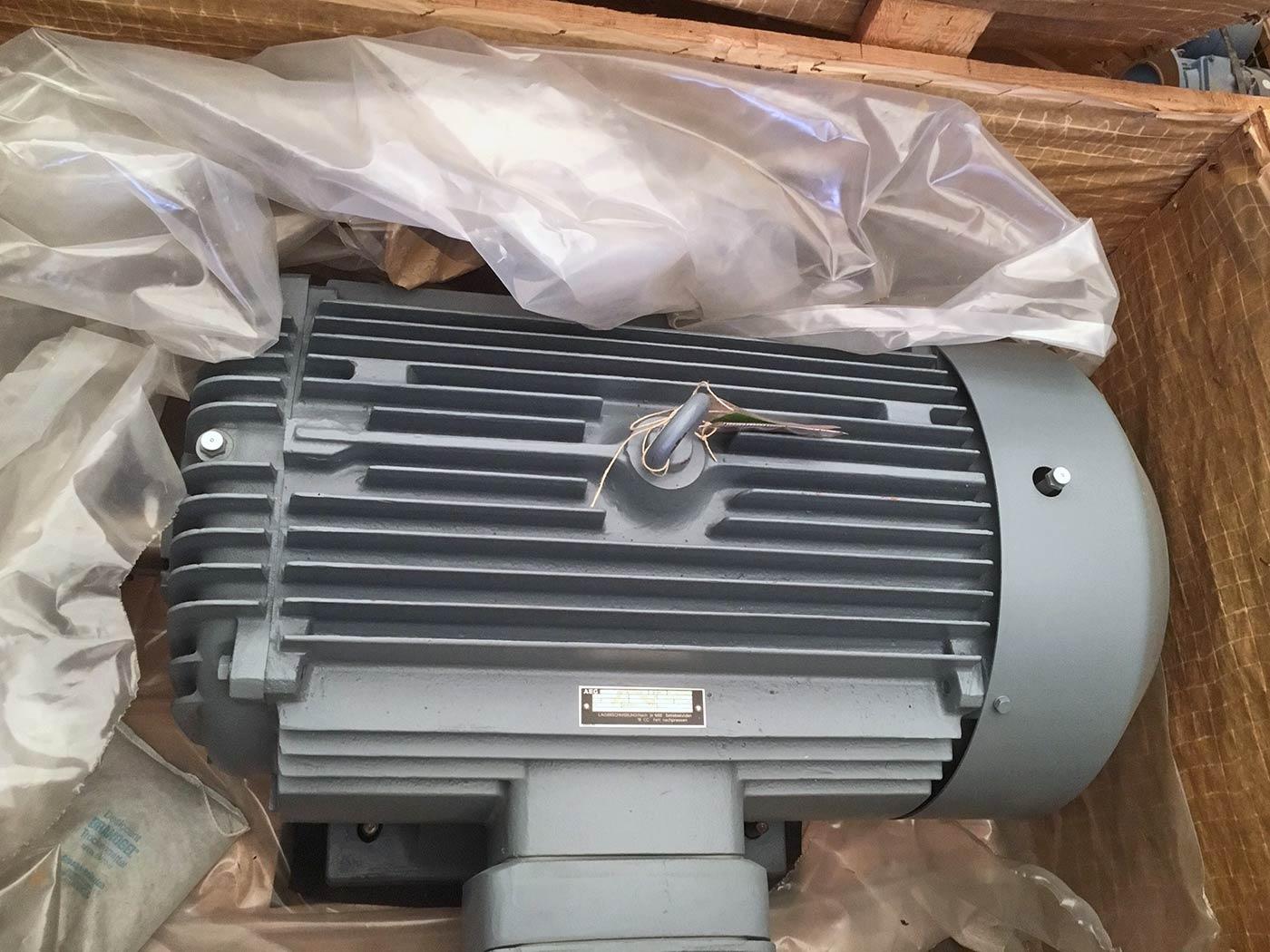 Motor von AEG